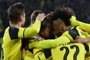 Liga Champions - Aubameyang hattrick, Dortmund melenggang ke perempatfinal