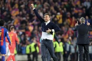 Pique ingin perpisahan Barcelona dan Enrique ditutup trofi