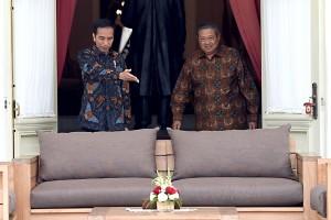 Jokowi setuju pendapat SBY soal transisi politik