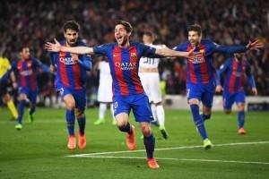 Liga Champions - Menang dramatis, Barcelona singkirkan PSG 6-1