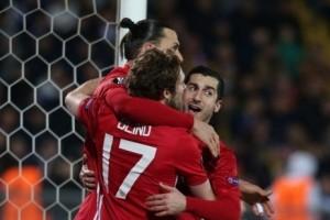 Liga Europa - Hasil leg pertama 16 besar, MU imbang, Roma kalah