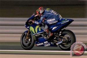 Vinales dan Rossi ambil kendali hari kedua Qatar