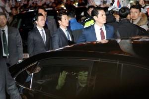 Mantan Presiden Korea Selatan diinterogasi jaksa