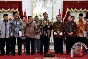 Presiden Bertemu Pimpinan Lembaga Negara