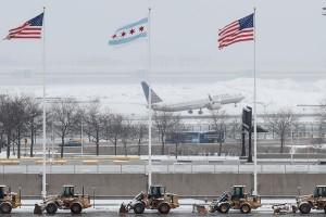 Badai salju terjang AS, 6.000 penerbangan dibatalkan