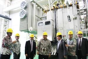 Pabrik transformator terbesar Asia Tenggara beroperasi di Cikarang