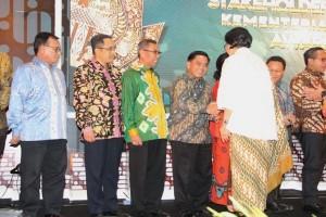 Kemenperin raih penghargaan atas capaian opini WTP dan PNBP