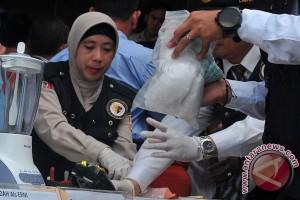 Polda sumsel musnahkan narkoba bernilai miliaran rupiah