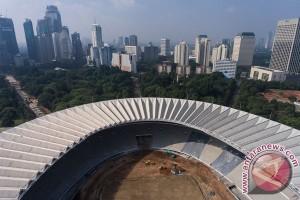 Pembukaan Asian Games pakai empat crane