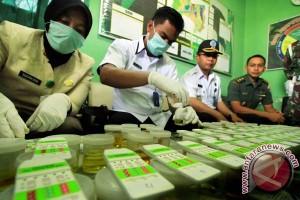 Tes Urine TNI Di Aceh