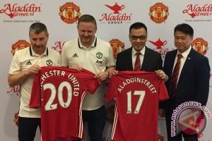 Aladdin Street gandeng Manchester United pasarkan produk halal di Indonesia