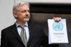 """Assange batal sampaikan """"pengumuman khusus"""" di balkon Kedutaan Ekuador"""