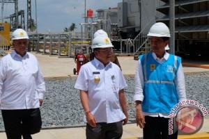 Daftar pembangkit listrik bergerak yang diresmikan Jokowi