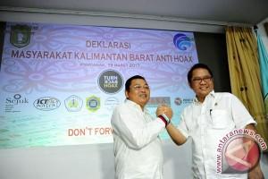 Deklarasi Kalbar Anti Hoax