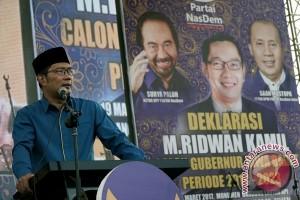 Ridwan Kamil belum memikirkan tentang cawagub