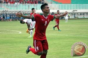 Indonesia vs Myanmar imbang 1-1 di babak pertama