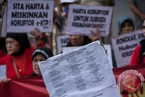 PUKAT desak KPK beberkan 14 orang pengembali uang kasus e-KTP