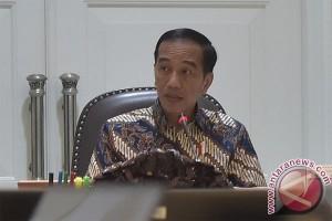 Presiden Jokowi minta kementerian maksimalkan belanja modal