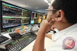 IHSG ditutup melemah 9,00 poin