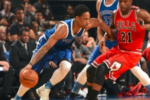 Tuntaskan defisit 15 poin, Raptors atasi Bulls 122-120 lewat overtime