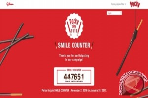 Share Happiness! Pocky umumkan jumlah kebahagiaan yang terkumpul di ajang Pocky Day SMILE COUNTER campaign perdana