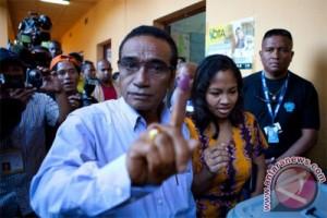 Mantan pejuang Timor Leste pimpin perolehan suara pilpres
