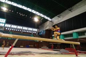 Atlet senam artistik pelatnas akan ikuti pelatihan di Doha
