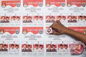 Djarot-Politisi Golkar berkoordinasi usai sholat Jumat di Cut Meutia