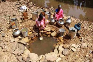 EARTH WIRE -- 76 mln people in India have no access to safe water: Report