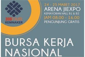 Ayo kunjungi pameran Bursa Kerja Nasional (Job Fair) di JIExpo