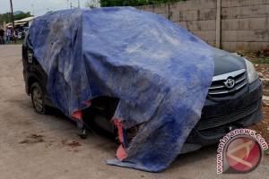 Mobil Tersangka Teroris