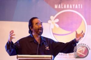 Paloh perintahkan jaga soliditas jelang Pemilu 2019