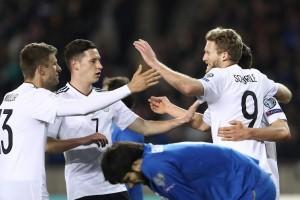 Schuerrle cetak dua gol saat Jerman bungkam Azerbaijan 4-1