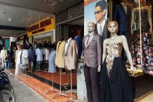 "Pedagang tekstil di Pasar Baru ""mati suri"""
