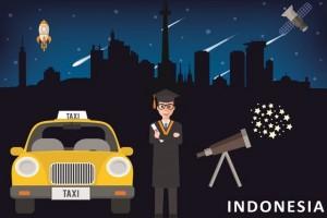 ANTARA Doeloe : Beginilah nasib sardjana astronomi djadi sopir taxi