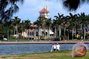 Amerika gerah Trump acap bicarakan rahasia negara di villa pribadinya