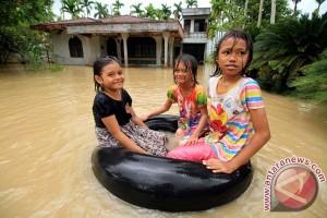 Banjir rendam ratusan rumah di Timika