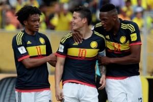 Gebuk Ekuador 2-0, Kolombia naik ke posisi dua