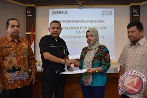 PT INKA salurkan dana kemitraan Rp609 juta