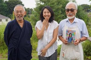 Sherina terpukau pada film Nausica Studio Ghibli