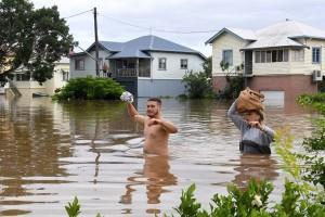 Dua orang tewas, enam hilang akibat banjir di Australia Timur