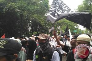 Ribuan peserta aksi 313 bergerak dari Istiqlal