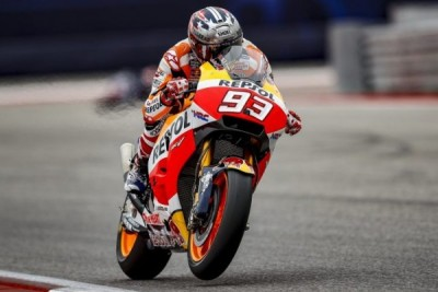 Marquez juara MotoGP Austin lima kali beruntun, Vinales tersingkir