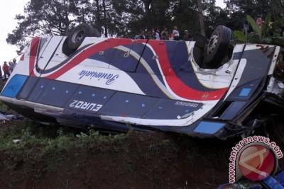 Dishub Jabar nyatakan bus kecelakaan maut Ciloto tak terdaftar