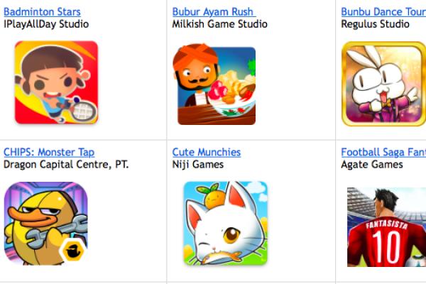 Finalis kontes game Google, mulai dari Bubur Ayam hingga Om Telolet Om