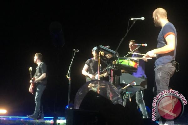 Konser Di Korea, Coldplay Peringati Tragedi Sewol