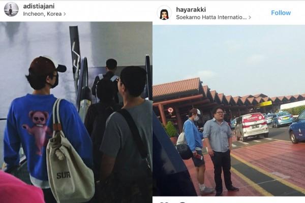 Aktor Korea Gong Yoo Terlihat Di Bandara Soekarno-Hatta