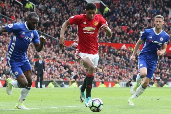 Dua gol Rashford bawa United menang 4-1