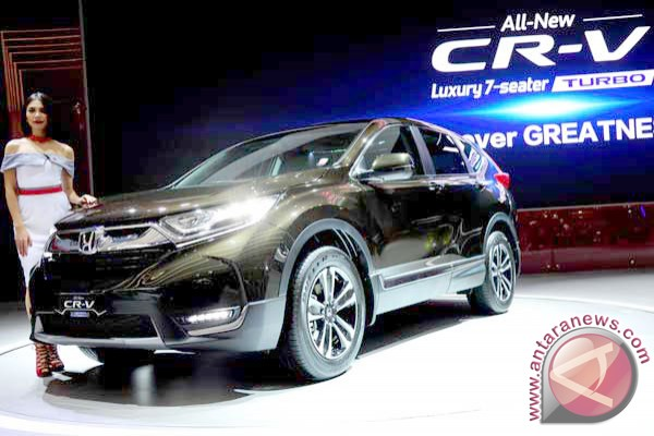 All New Honda CR-V Turbo sudah dipesan 2.500 unit
