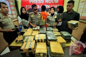 Polisi amankan 11 kilogram ganja tak bertuan